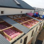 Roof Insulations installed for Flat Roofs