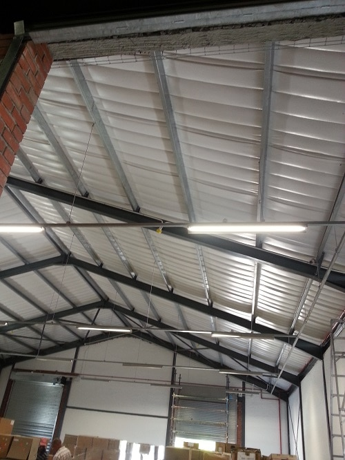 Isofoil Factory Insulation Roof Insulation For Factories